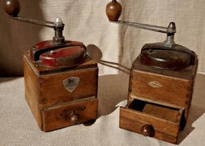 Caratteristiche delle macinacaffè antiche